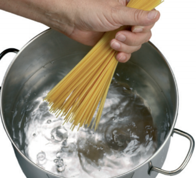 Putting the Pasta in the Pot