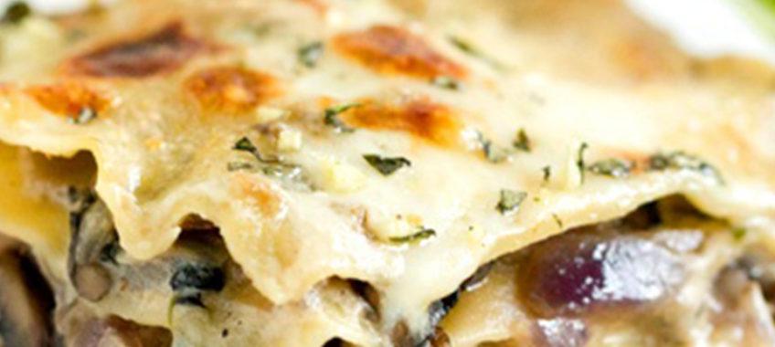 Mushrooms Lasagna