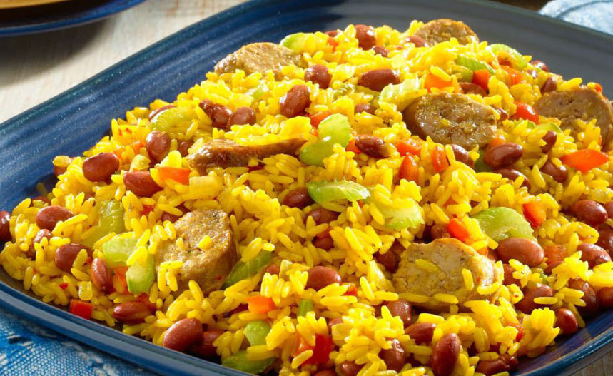 Rice with Saffron and Sausages