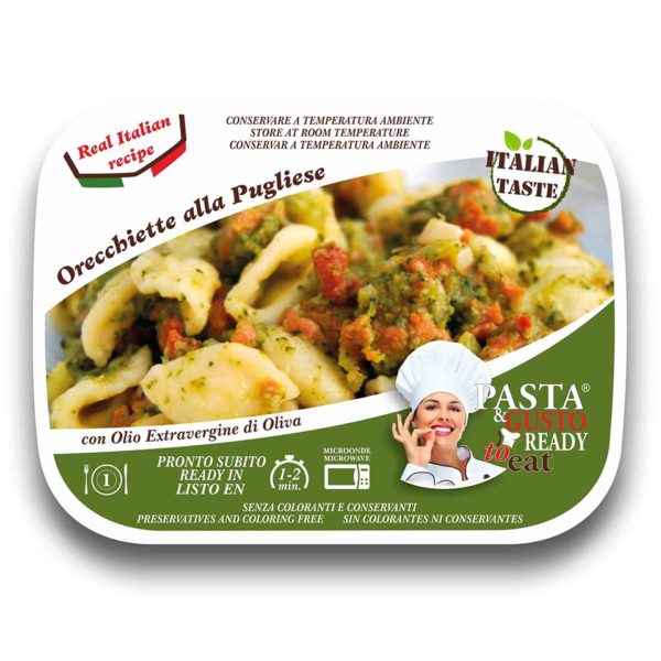 Orecchiette Pugliese Cover Pasta Ready To Eat
