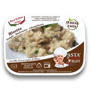 Risotto with Mushrooms Pasta Ready to Eat