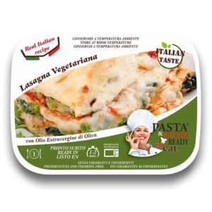 Vegetarian Lasagna Pasta Ready To Eat
