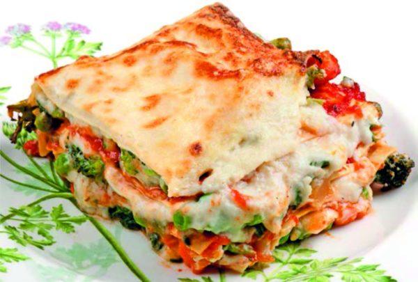 Vegetarian Lasagna Dish