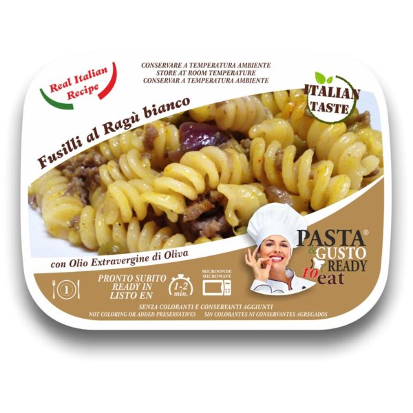 Pasta Ready Meals Fusilli with white meat sauce